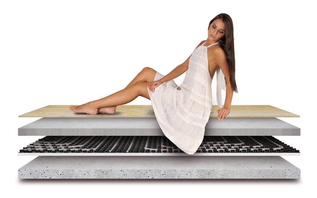 ogrzewanie podłogowe warstwy
